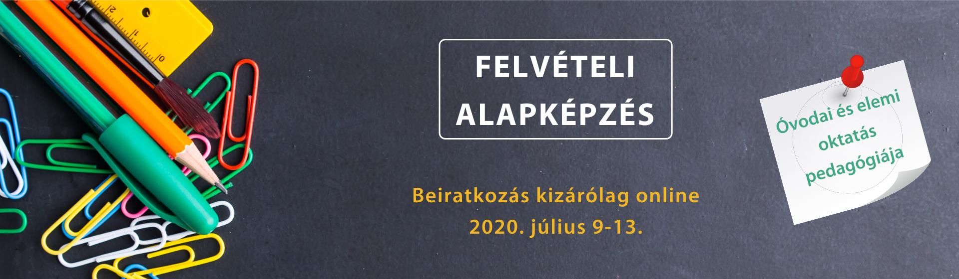 Felvételi alapképzés 2020 – honlap banner (1)